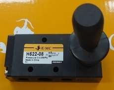 marca: EMC modelo: H52208 Nesta versão a alavanca trava, mas também existe a versão com retorno por mola.