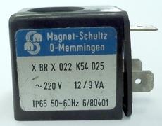 Bobina (modelo: XBRX022K54D25 220V) para válvula pneumática