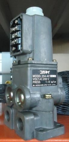 Válvula pneumática (modelo: 2544E1 AC200V)