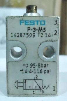 marca: FESTO modelo: P3M5 14287509 estado: seminova