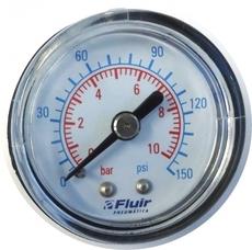 marca: FLUIR escala: 10BAR 150PSI modelo: mini diametro:42mm rosca:1/8 estado: novo