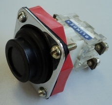 Botão com proteção sem trava (modelo: 1024)