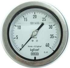 Manometro (escala: 40kgf/cm2)