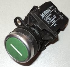 marca: Klockner Moeller modelo: s/trava 22mm verde 2contatos estado: usado