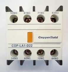 Bloco para contator (modelo: COP-LA1-D22)
