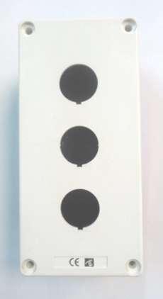 Caixinha para 3 botões