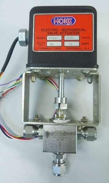 marca: HOKE <br/>modelo: 0112L2F 115VAC <br/>estado: seminova