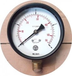 Manometro (escala: 56PSI 4kgf/cm2)