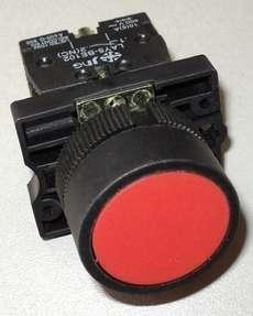 marca: JNG modelo: LAY5EA4 bloco: LAYBE101 com mola (sem trava / sem retenção),2 contatos, 22mm, vermelho estado: novo