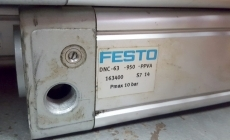 marca: FESTO modelo: DNC63950PPVA 163400S714 63X950 estado: novo