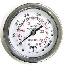 Manômetro (PFQ911ZRR1R11S escala: 250BAR 3600PSI)