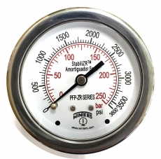 Manometro (escala: 250BAR 3600PSI)