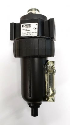 marca: PARKER modelo: 11F38EC1 rosca 1/2 pressão máxima: 250PSI temperatura máxima: 80C