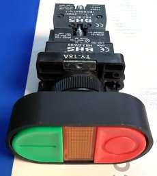 Botão verde-lampada-vermelho (modelo: HB2EBW8365)