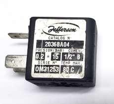 Bobina (modelo: 2036BA04 220V 50/60 6W)
