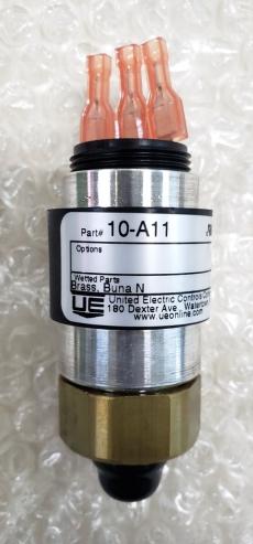 marca: UNITED ELECTRIC CONSTROLS COMPANY modelo: 10A11 10-150PSI 0.7-10.3BAR estado: novo