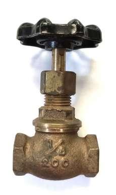 Válvula duas vias (modelo: 1/8pol 200)