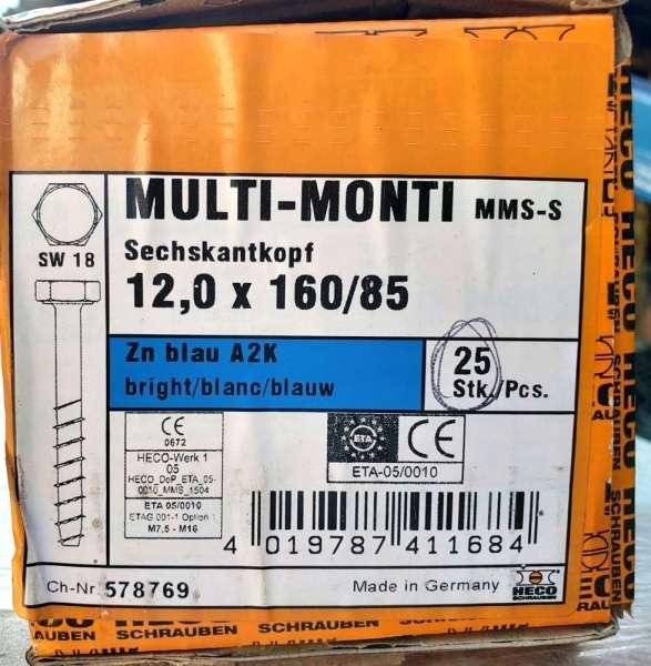marca: MULTI MONTI <br/>modelo: 12,0X160/85