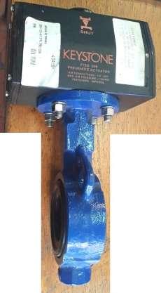 marca: KEYSTONE modelo: F79U006 2 polegadas com acionamento pneumático conexões: 1/4NPT estado: seminova