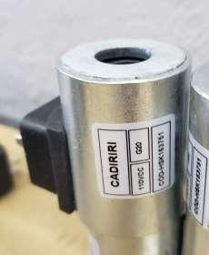 Bobina (modelo: HSK163751 110VCC G20 16X51mm)