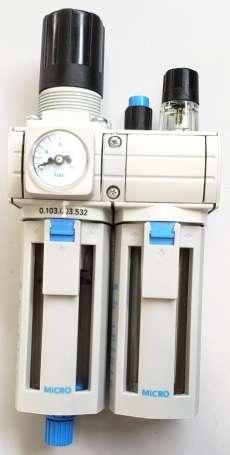 Conjunto lubrifil (modelo: QBM1 G1/4)