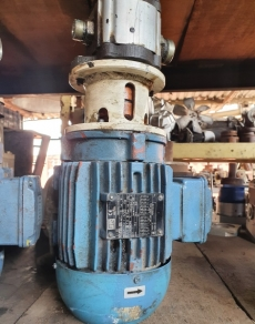 marca: WEG modelo: motor 1.1HP 1720rpm trifásico