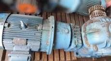 marca: WEG motor: 7.5HP trifásico 220/380/440 1160Hz A 22.0/12.7/11. ip55