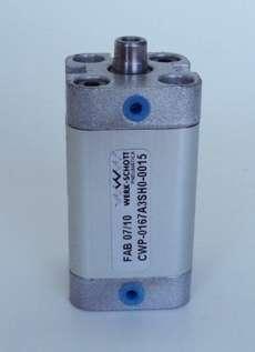 Cilindro pneumático (modelo: CWP0167A3SH00015)