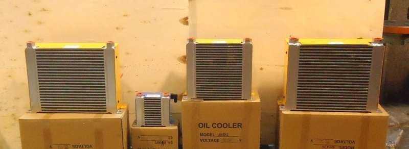 Resfriadores de óleo